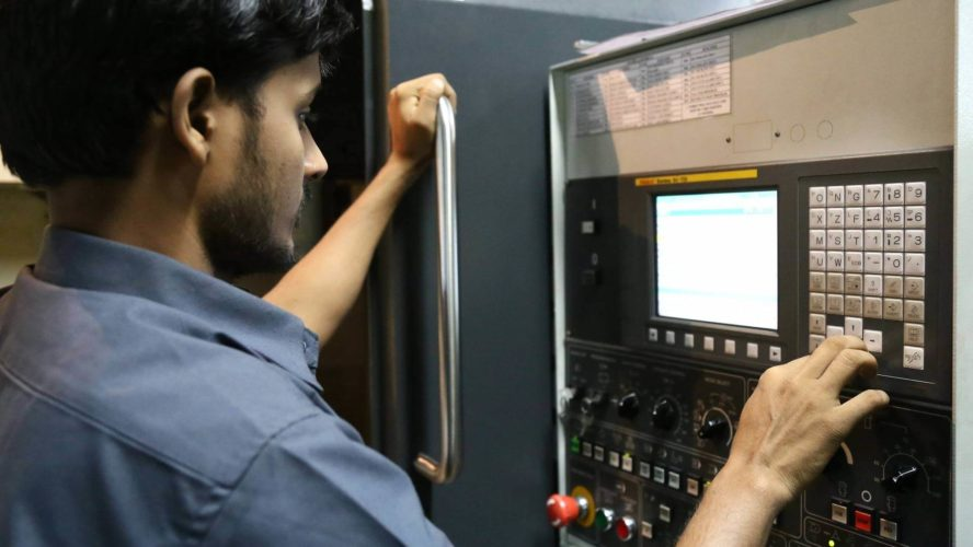 CNC Lathe Machine Operation & Maintenance
